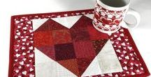 Quiltsy, Valentine's Day Quilts and Decor from the Etsy Quiltsy Team / Quilts for Valentine's Day