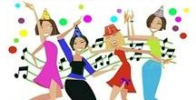 The Linky Ladies Party / Link party runs Tuesday through Sunday, share your knitting and crochet projects for a chance to be featured!
