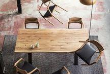 Furniture by Kristensen / Et udvalg af vore populære møbler i materialer som eg, ask, stål og læder.