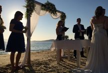 Weddings in Naxos, Greece. / Beautiful Beach Weddings in the island of Naxos, Greece. Organise your destination wedding in one of the most beautiful islands of Greece. Naxos Wedding and Beach Wedding Decoration Ideas!