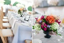 Our Favorite weddings / Mount Williams' own custom wedding florals