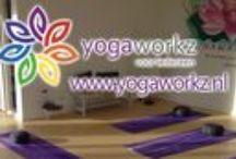 Yogaworkz / Yogaworkz heeft een yogastudio in Hoofddorp-Floriande.  Ik geef 2 type yogalessen: Yin yoga en Relax flow / stress relief. Beide zijn rustige en mindful yogalessen waarbij er ook gewerkt wordt met ademhalingstechnieken en 'breath awareness'. De lessen zijn voor iedereen te volgen, met of zonder yoga-ervaring.  Maandag 10:00 – 11:15 Yin yoga Vrijdag     09:00 – 10:15 Relax flow / stress relief  'Relax, calm down your mind, smile and be happy!' Marjon