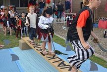 Ahoy Pirates, crafts, games activities and birthday party ideas with a pirate twist / Keep the kids busy with all of this pirate fun. Pirate crafts, games and activities.
