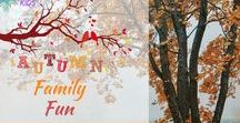 Autumn Family Fun / Family Fun this Autumn from Wonder Kids, crafts, games, and loads more fun
