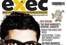 Covers / Cover designs of Executive Traveller Magazine