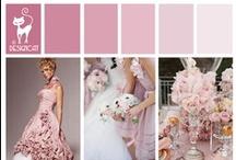 Wedding - Pink - Dusky Pink - Rose Quartz - Pantone Colour 2016 / Pantone Colour of 2016 - Rose Quartz