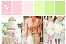 Wedding - Pink & Green - Pastel
