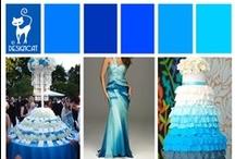 Wedding - Blue - Bright Blue