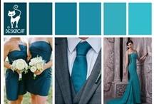 Wedding - Blue - Teal