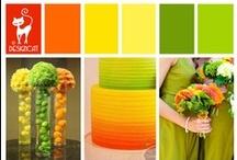 Wedding - Citrus  / Orange, Lemon (Yellow), Lime (Green)