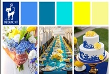 Wedding - Blue & Yellow / Blue and Yellow Wedding Inpiration Board