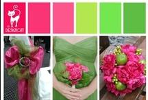 Wedding - Pink & Green - Bright