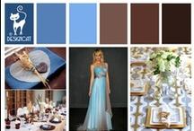Wedding - Blue & Brown