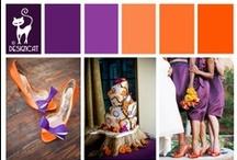 Wedding - Purple & Orange