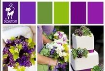 Wedding - Purple & Green