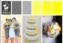 Wedding - Yellow & Grey