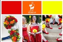 Wedding - Sunshine  / Red, Orange, Yellow Wedding Inspiration Board