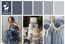 Wedding - Blue - Dusky Grey/Blue - Serenity - Pantone Colour of the Year 2016 / Pantone Colour of the Year 2016 - Serenity