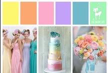 Wedding - Candy Shop  / Pale & Pastel Candy colours