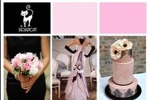 Wedding - Pink & Black - Pastel