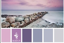 Designcat - Colour Pallets / Inspiration for you Home Décor or even your wedding/wardrobe. See which colours nature puts together. If you are looking for a specific colour board let me know.