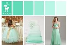 Designcat - Colour Pallets - Wedding / Colour Inspiration for your Wedding