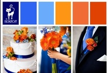 Wedding - Blue & Orange