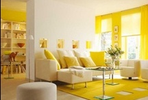 Interior - Yellow  / by Designcat Colour