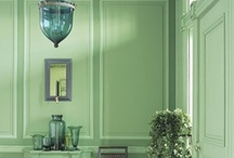 Interior - Green  / by Designcat Colour