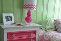 Interior - Pink & Green