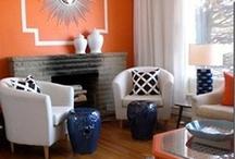 Interior - Blue & Orange