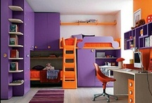 Interior - Purple & Orange
