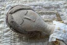 MUÑECAS DE TRAPO / Muñecas y objetos decorativos y útiles realizados con retales de tela / by Mila Fermar