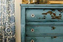 RECICLANDO y RESTAURANDO / Objetos realizados con materiales reciclados y objetos antiguos restaurados / by Mila Fermar