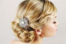 Wedding Hairstyles / Glamorous hairstyles for your wedding