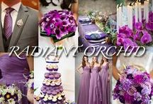 Wedding - Pink - Radiant Orchid - Pantone colour 2014 / Pantones colour for 2014 is vibrant Radiant Orchid.