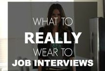 Interview Attire - Women / Find the perfect outfit for a woman to wear to a job interview  / by Bryant & Stratton College
