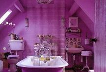 Interior - Pink - Radiant Orchid - Pantone Colour of 2014