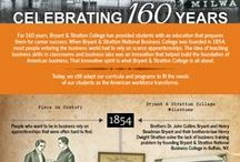 Bryant & Stratton College History: 160 Years / Take a look into the past of a 160 year history of Bryant & Stratton College! Have a historic photo to share? Use #Bryantandstratton on Pinterest, Twitter, or Instagram today!  / by Bryant & Stratton College