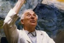 MARC CHAGALL- RUSSIAN FRENCH / My interest  an admiration of this great man