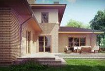 Domu jednorodzinny w Aleksandrowie Łódzkim. / Zapraszamy do poznania nowego projektu domu jednorodzinnego. Wykończony klinkierem budynek ma zostać zrealizowany w Aleksandrowie Łódzkim.