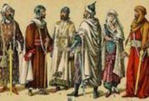 Al-Andalus. Personajes-Indumentaria / Personajes, caracterizaciones, indumentaria, vestimenta, moda de la época andalusí, morisca y mudéjar. Characters, characterizations, apparel, clothing, fashion andalusian, moorish and mudéjar era.