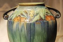 Van Briggle, Weller, and Roseville Pottery / by Shari Thomas