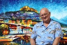LEONID AFREMOV / It´s about a very good painter and great man who knows the feelings of others,..... And- he left the school in Vitebsk founded by  my favourite Marc Chagall