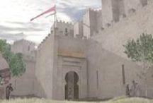 Al-Andalus. Madina / Dibujos, ilustraciones, fotografías y cualquier tipo de representación gráfica de medinas (ciudades), zocos, alquerías, etc... de época andalusí. Al-Andalus Drawings, illustrations and any type of graphical representation of medinas (city), farms, etc ... of Andalusian period. Al Andalus