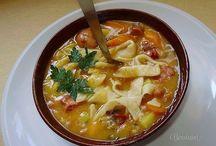 Суп фасолевый с лапшой