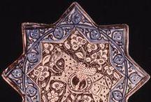 Mashreq. Ceramica arquitectónica / Tiles/Azulejos