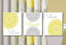 Interior - Grey & Yellow