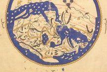 Cartografía / Cartografía. Especialmente medieval y de Hispania, España, Al-Adanlus