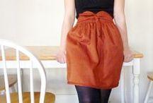 Spring: Waistbands / Different skirt and waist band detailing